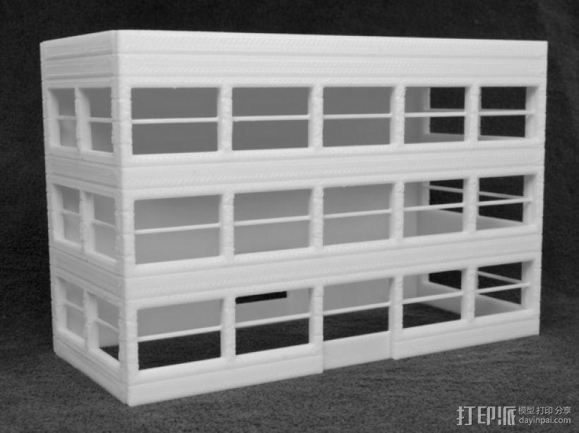 办公大楼 3D模型  图1