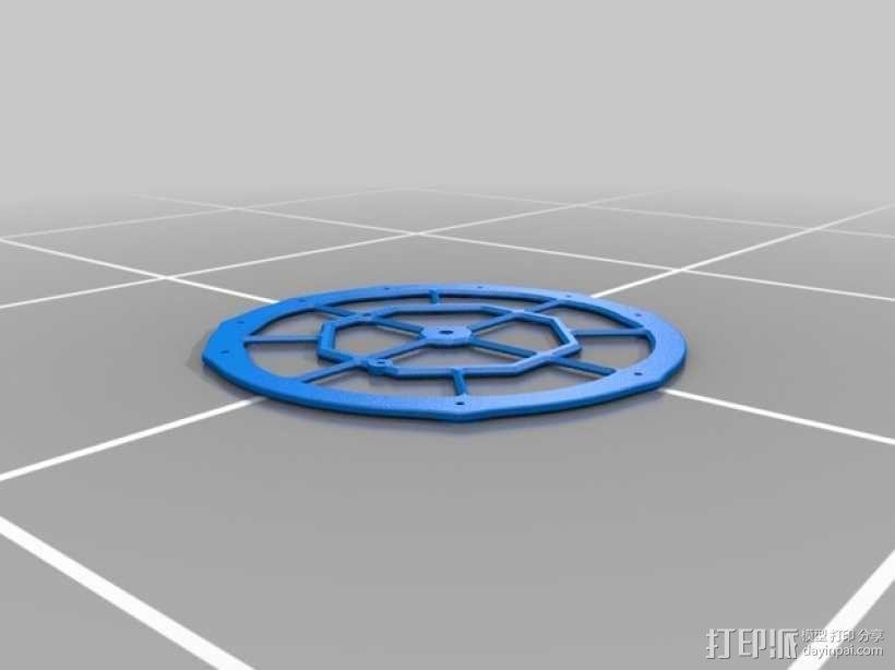 机械钟 3D模型  图2