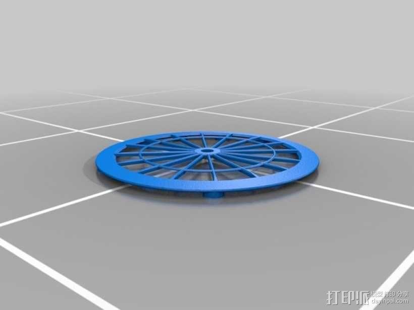机械钟 3D模型  图7