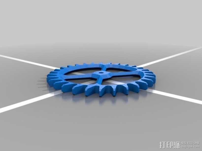 机械钟 3D模型  图8