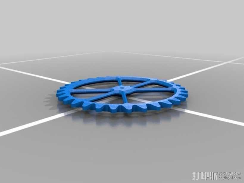 机械钟 3D模型  图11