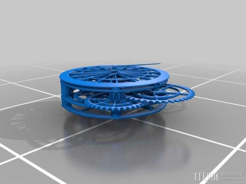 机械钟 3D模型  图23