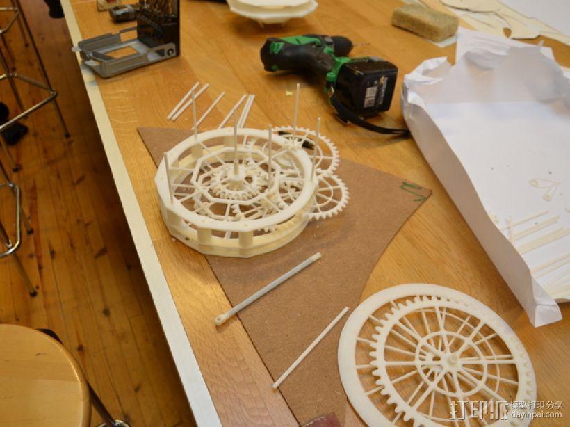 机械钟 3D模型  图30