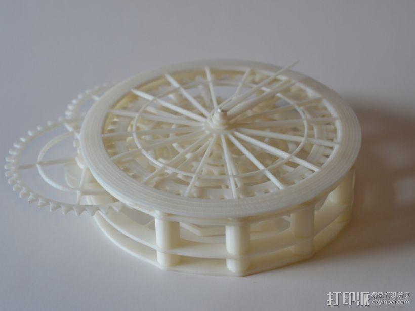 机械钟 3D模型  图28