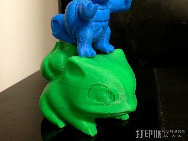 妙蛙种子 3D模型  图3