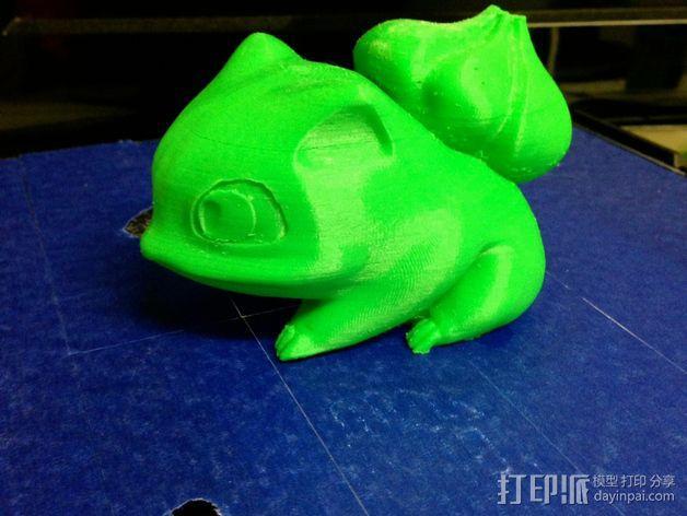 妙蛙种子 3D模型  图13