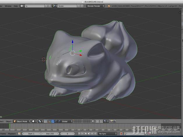 妙蛙种子 3D模型  图21