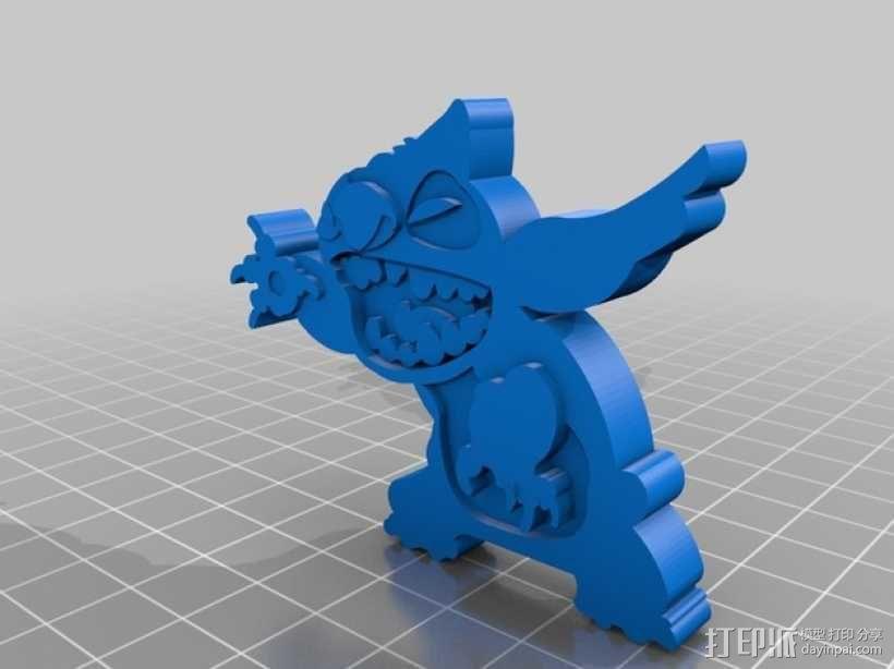 史迪奇 3D模型  图1