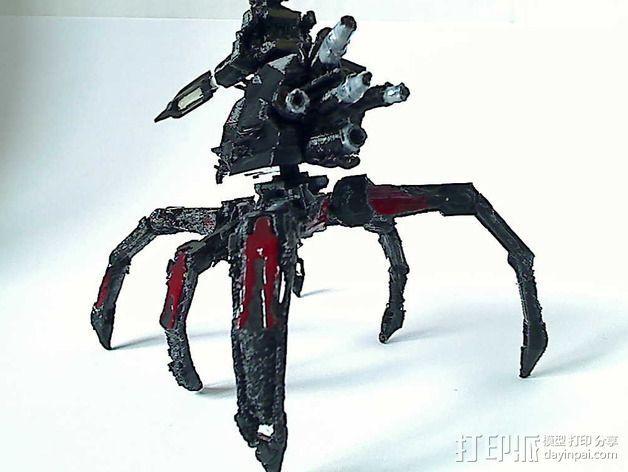 Cybran蜘蛛机器人 3D模型  图3