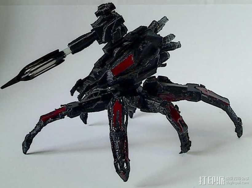 Cybran蜘蛛机器人 3D模型  图1