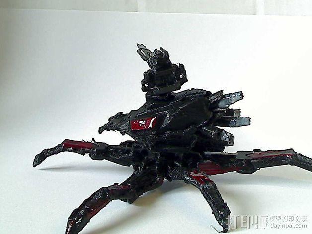 Cybran蜘蛛机器人 3D模型  图5