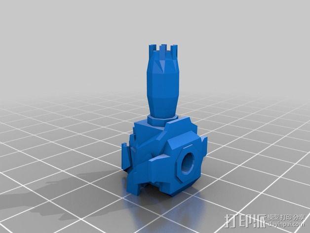 Cybran蜘蛛机器人 3D模型  图9