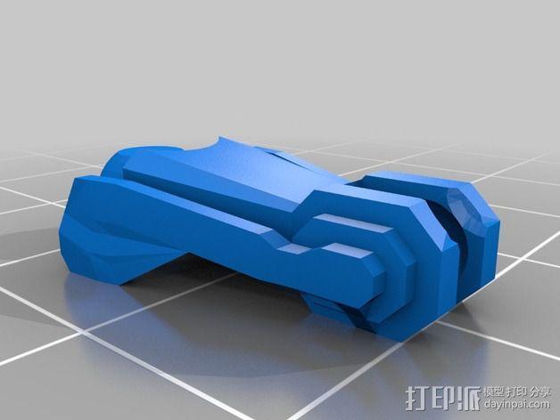 Cybran蜘蛛机器人 3D模型  图11