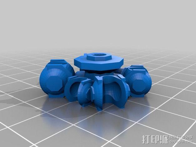 Cybran蜘蛛机器人 3D模型  图15