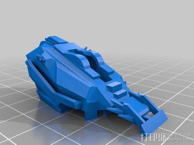 Cybran蜘蛛机器人 3D模型  图13