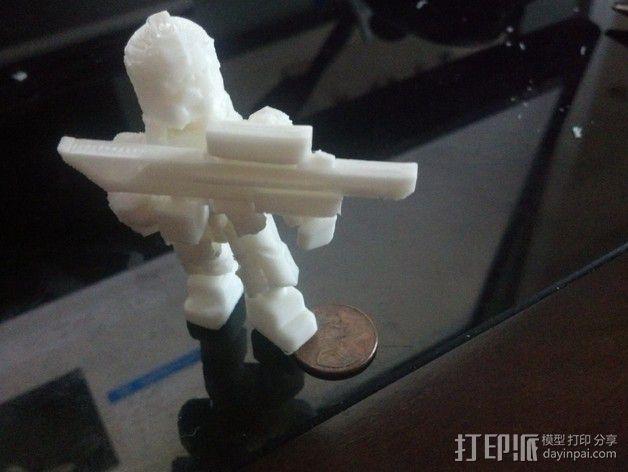 泰坦陨落 飞行员  3D模型  图2