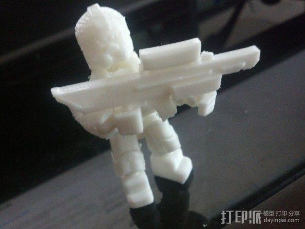 泰坦陨落 飞行员  3D模型  图3
