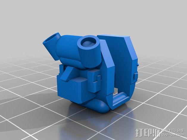 泰坦陨落 飞行员  3D模型  图4