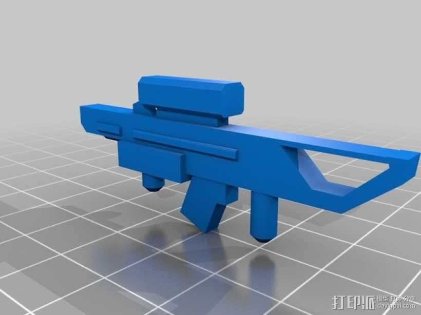 泰坦陨落 飞行员  3D模型  图8