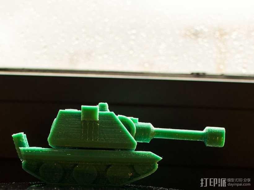 E100重型坦克 3D模型  图3