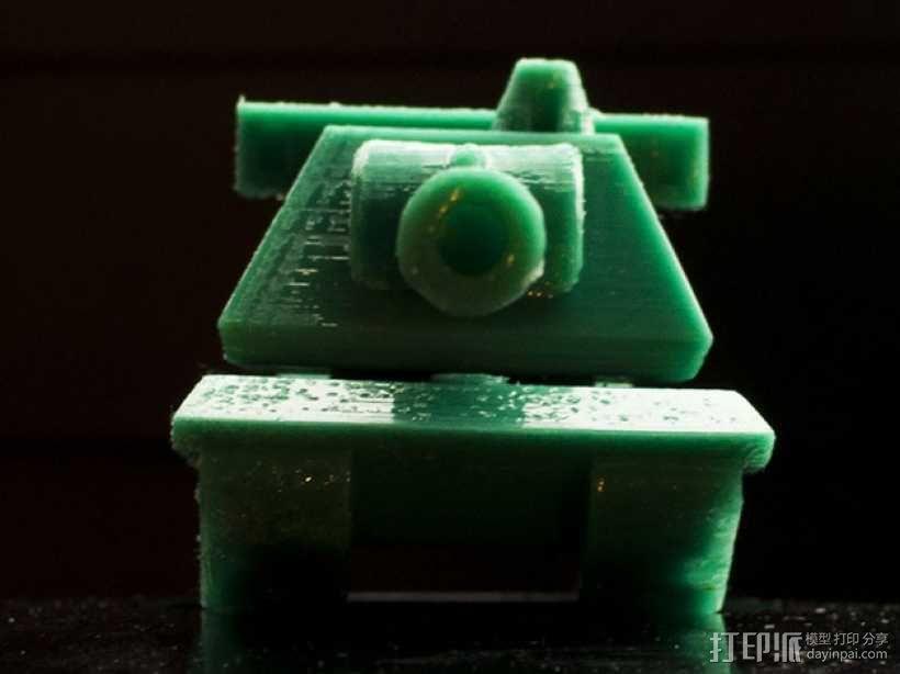 E100重型坦克 3D模型  图2