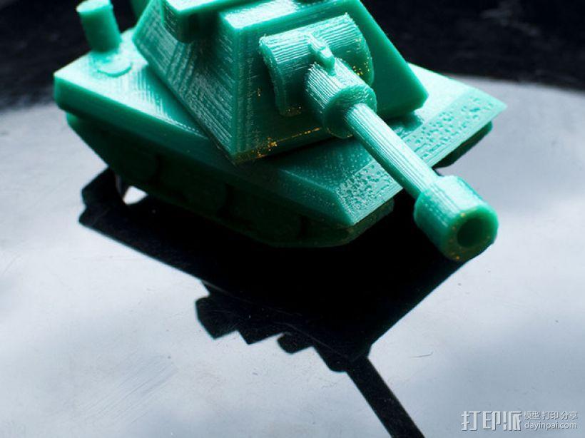 E100重型坦克 3D模型  图1