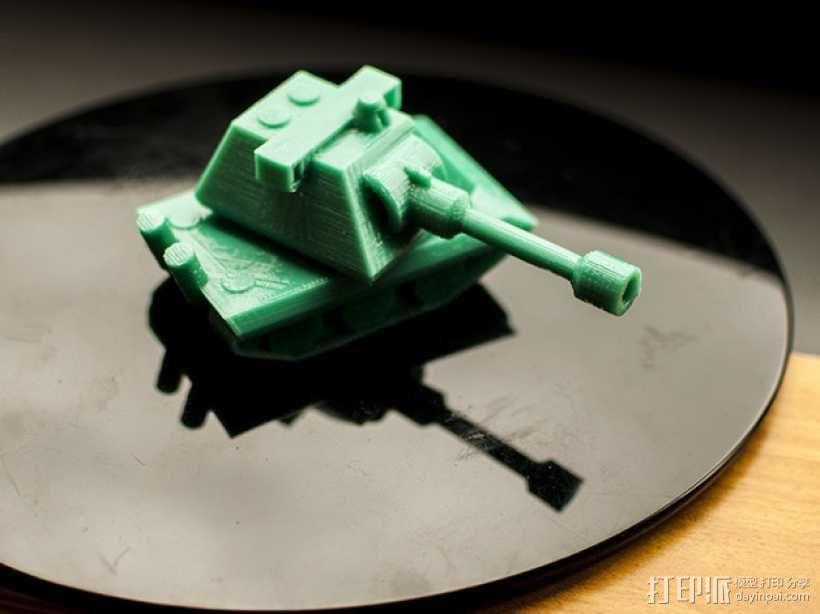 E100重型坦克 3D模型  图4