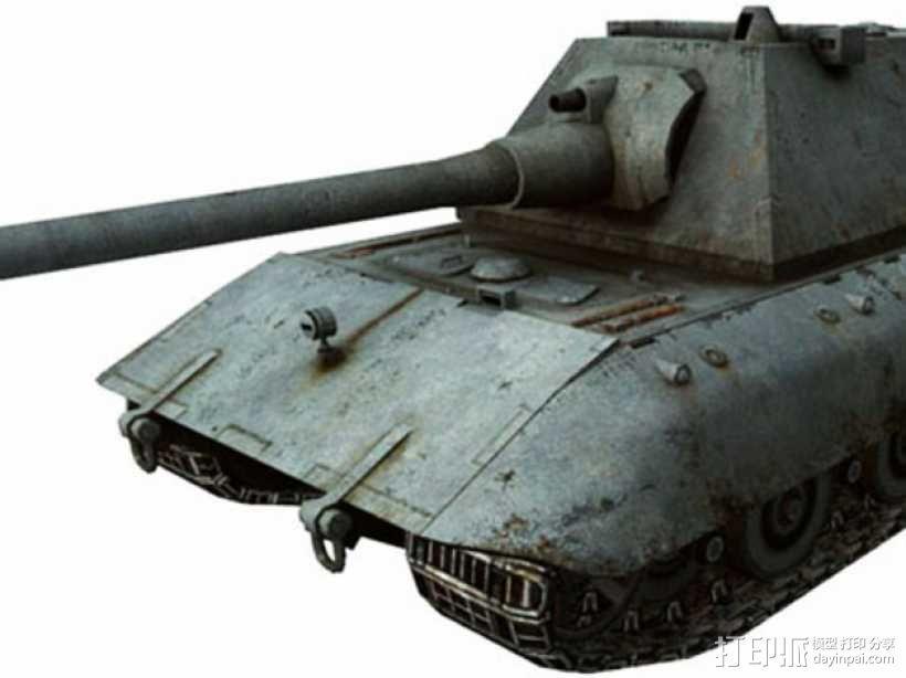 E100重型坦克 3D模型  图7