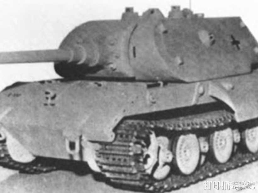 E100重型坦克 3D模型  图6