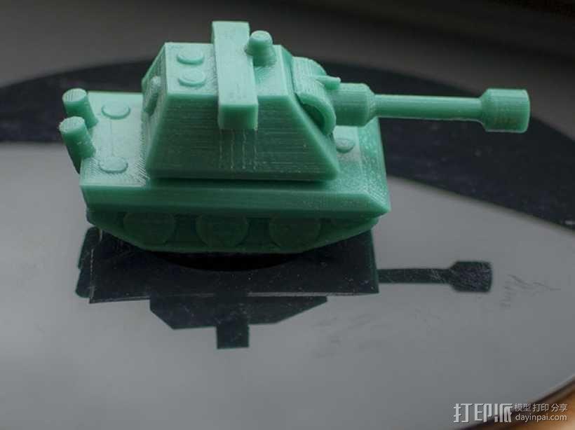 E100重型坦克 3D模型  图5