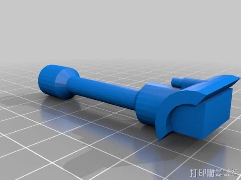 E100重型坦克 3D模型  图8