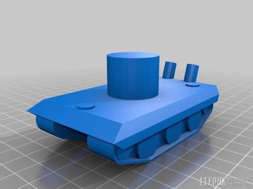 E100重型坦克 3D模型  图9