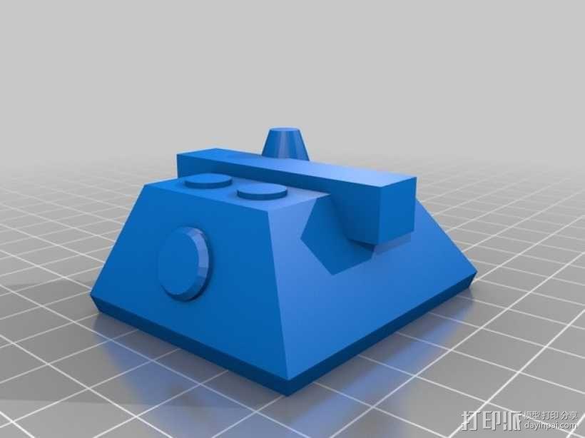 E100重型坦克 3D模型  图10