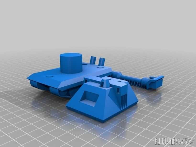 E100重型坦克 3D模型  图11