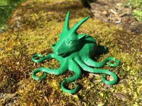 山羊章鱼 3D模型
