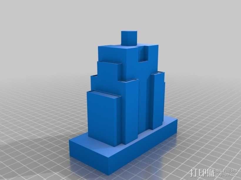 帝国大厦 3D模型  图4