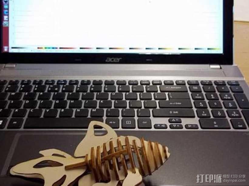 金鱼 3D模型  图1