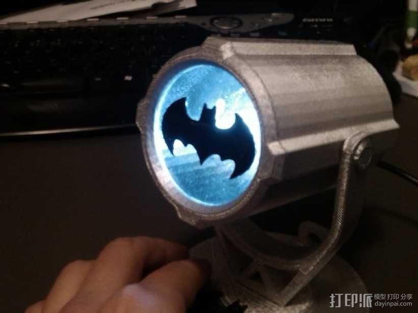 蝙蝠投影  3D模型  图1