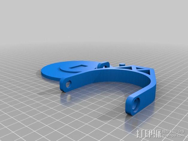 蝙蝠投影  3D模型  图3