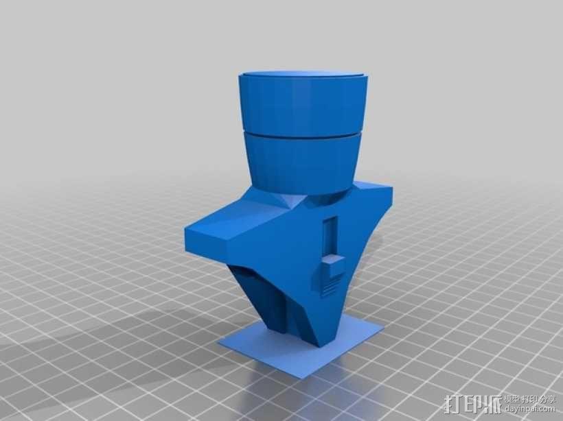 Klingon Daq Tahg 匕首 3D模型  图6