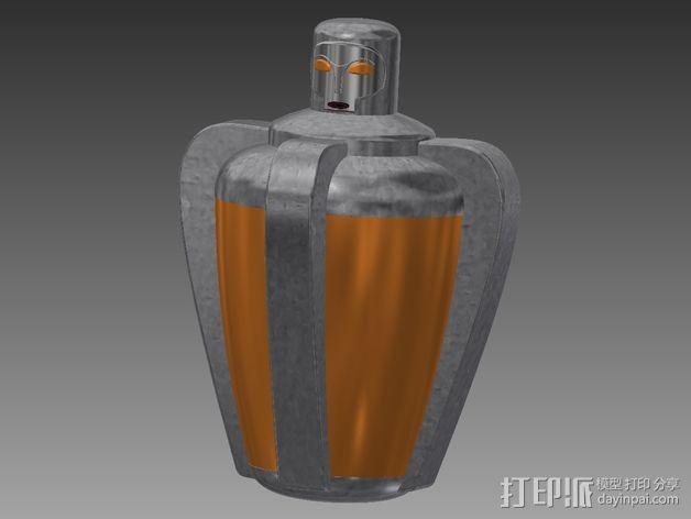 超能力质子 生化奇兵 3D模型  图1