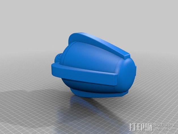 超能力质子 生化奇兵 3D模型  图2