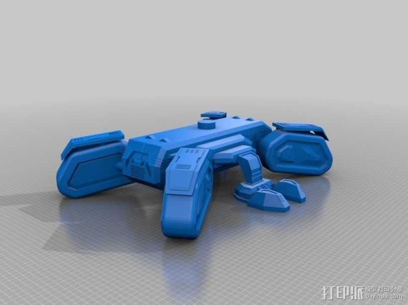 星际坦克 3D模型  图3