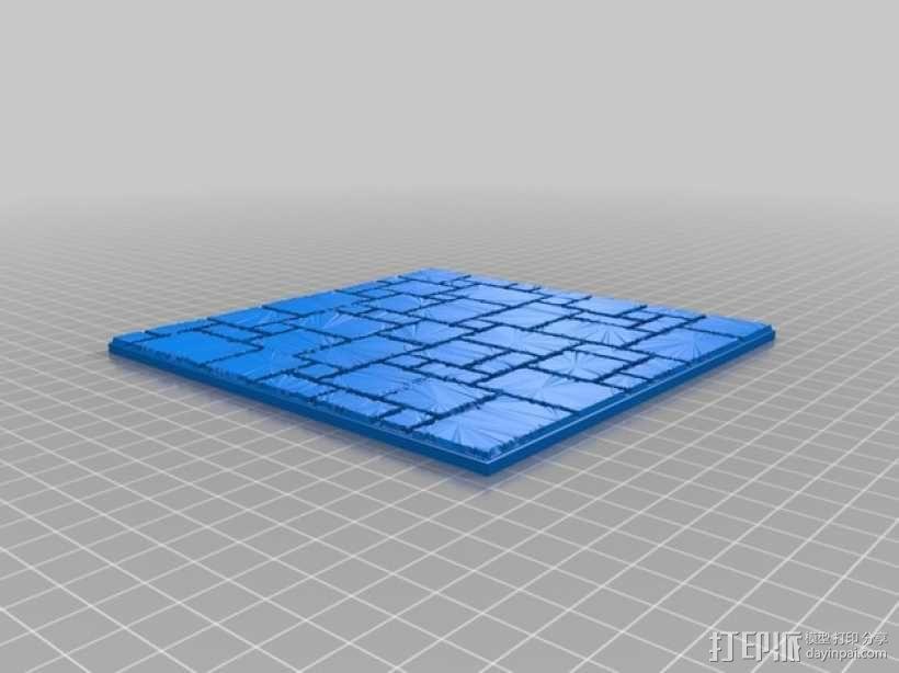 拼接石板 3D模型  图2