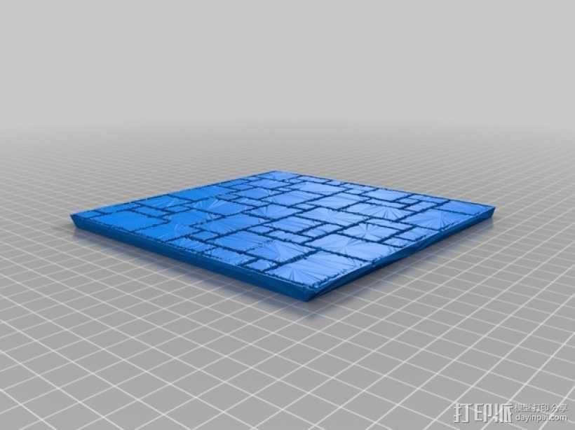 拼接石板 3D模型  图4