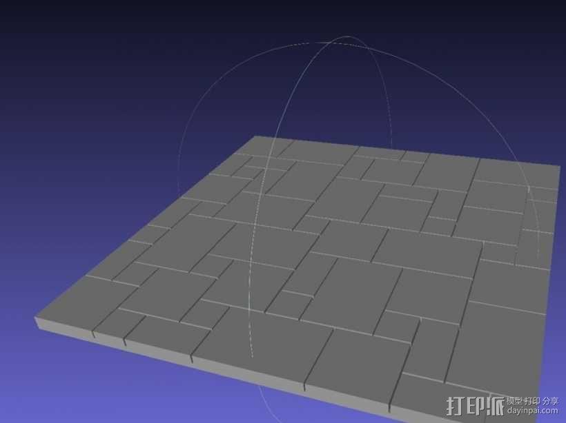 拼接石板 3D模型  图6