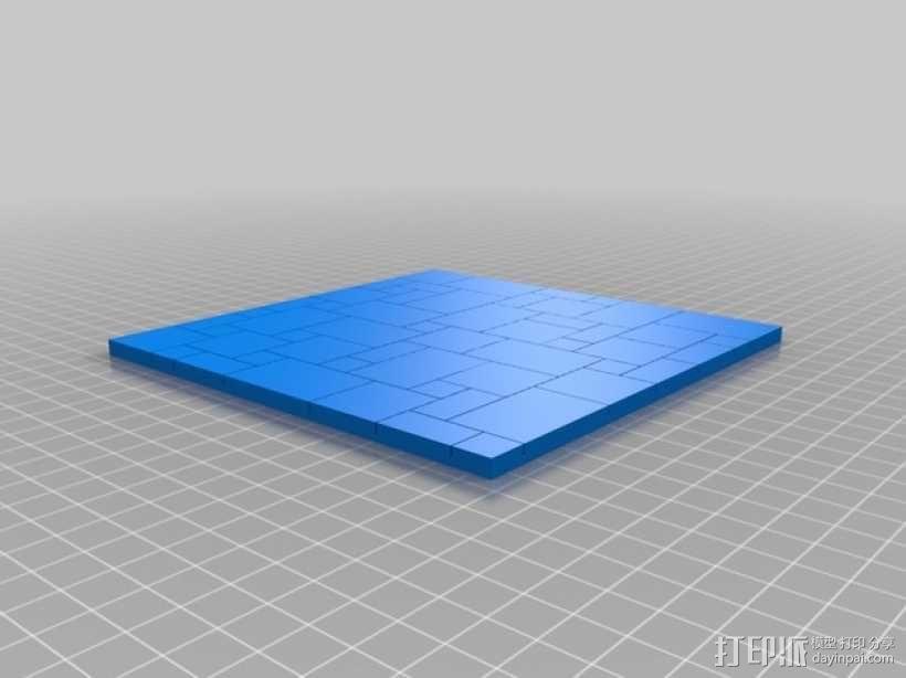拼接石板 3D模型  图5