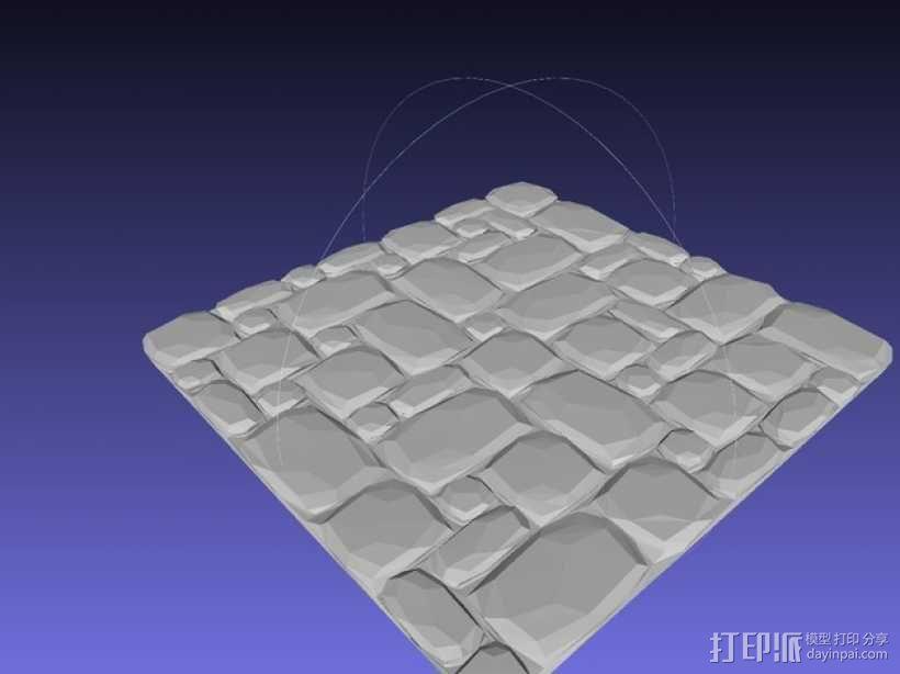 拼接石板 3D模型  图8