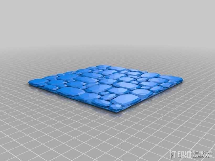 拼接石板 3D模型  图7