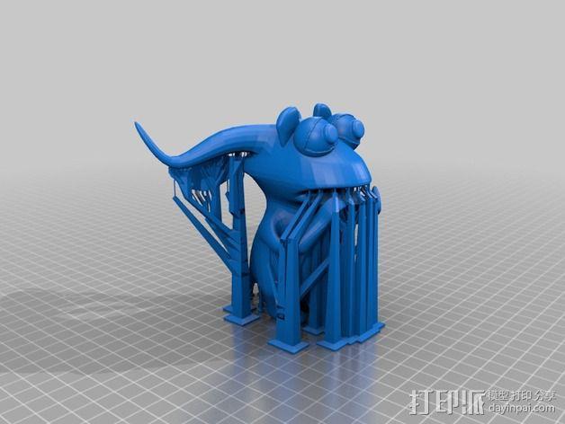 胆小的小怪物 3D模型  图3